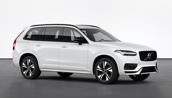 Volvo XC90 Recharge R-design is-hvit Solid
